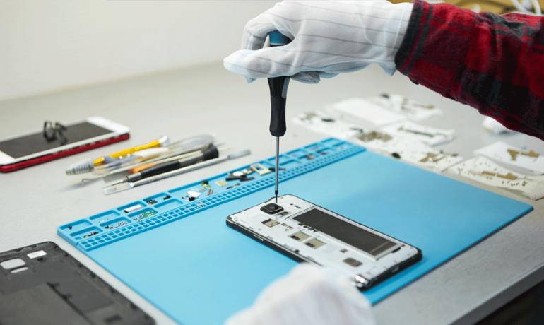 Samsung skärmbyte – batteribyte – baksidabyte