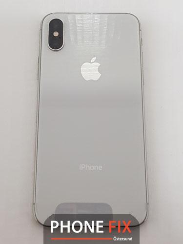 byt glas Iphone X baksida