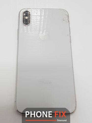 byt glas Iphone XS baksida byte